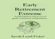[+][PDF] TOP TREND Early Retirement Extreme: A Philosophical and Practical Guide to Financial Independence  [NEWS]
