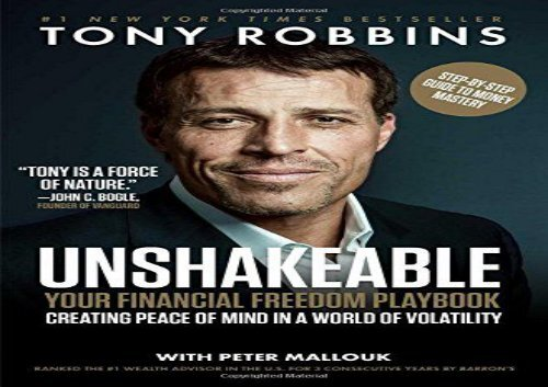 unshakeable your financial freedom playbook pdf free