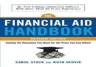 [+]The best book of the month The Financial Aid Handbook: Getting the Education You Want for the Price You Can Afford  [FREE]