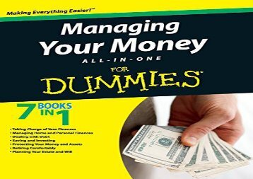[+]The best book of the month Managing Your Money All-in-One For Dummies  [DOWNLOAD]