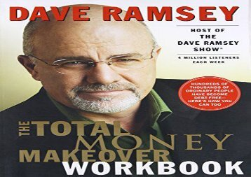 [+]The best book of the month The Total Money Makeover Workbook  [NEWS]
