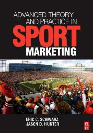 advanced theory and practice in sport marketing - Marshalls University