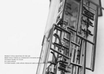 Yu Yulin, Final Year Project Studio, 2017-18