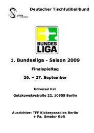 1. Buli 09 Finale in Berlin - DTFB