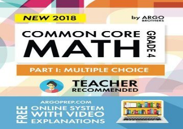 [+]The best book of the month Common Core Math Workbook, Grade 4: Multiple Choice, Daily Math Practice Grade 4  [DOWNLOAD]