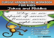 [+]The best book of the month Cursive Handwriting Workbook for Kids: Jokes and Riddles  [FULL]