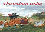 [+]The best book of the month Thunder Cake  [FREE]