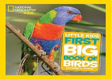 [+]The best book of the month Little Kids First Big Book of Birds (First Big Book)  [DOWNLOAD]