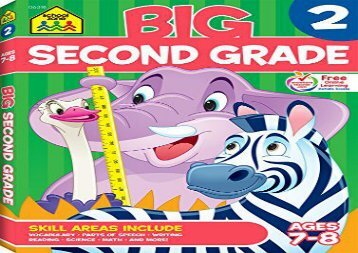 [+]The best book of the month Big Second Grade Workbook: Ages 7-8  [DOWNLOAD]