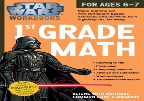 The best book of the month 1st Grade Math (Star Wars