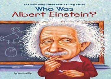 [+]The best book of the month Who Was Albert Einstein?  [READ]