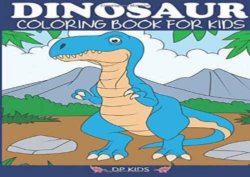PDF] TOP TREND Dinosaur Coloring Book for Kids: Fantastic Dinosaur ...