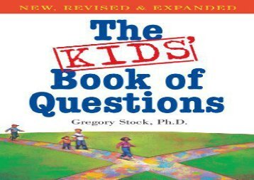 [+]The best book of the month The Kids  Book of Questions  [READ]