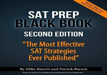 [+]The best book of the month SAT Prep Black Book: The Most Effective SAT Strategies Ever Published  [FREE]