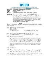 MEETING: Pre-Season Hockey Sports Committee DATE ... - GMAA