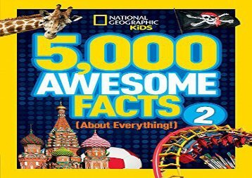 [+]The best book of the month 5,000 Awesome Facts (About Everything!) 2 (5,000 Awesome Facts )  [FULL]
