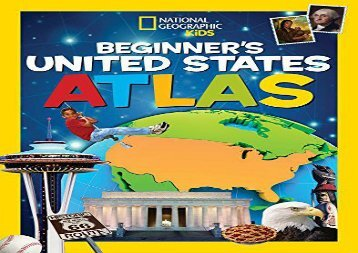 [+]The best book of the month National Geographic Kids Beginner s United States Atlas (Atlas )  [FREE]