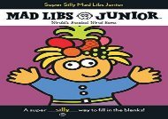 [+][PDF] TOP TREND Super Silly Mad Libs Junior  [DOWNLOAD]