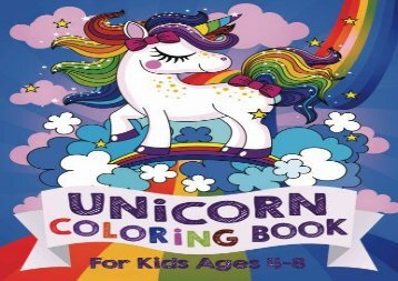 [+]The best book of the month Unicorn Coloring Book: For Kids Ages 4-8 (US Edition)  [DOWNLOAD]