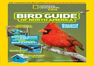 [+][PDF] TOP TREND National Geographic Kids Bird Guide of North America, Second Edition (Science   Nature)  [DOWNLOAD]