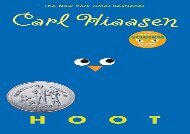 [+]The best book of the month Hoot  [NEWS]