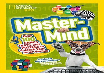 [+]The best book of the month Mastermind: Over 100 Games, Tests, and Puzzles to Unleash Your Inner Genius (Science   Nature)  [FULL]