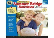 [+]The best book of the month Summer Bridge Activities(r), Grades K - 1 [PDF]