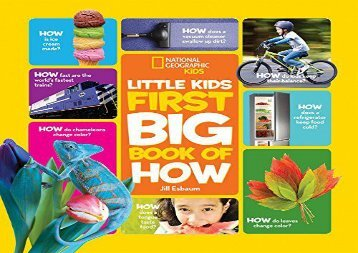 [+]The best book of the month Little Kids First Big Book of How (First Big Book)  [FREE]