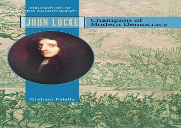 [+]The best book of the month John Locke: Champion of Modern Democracy (Philosophers of the Enlightenment)  [DOWNLOAD]