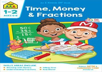 [+][PDF] TOP TREND Time, Money and Fractions 1-2-Workbook (An I Know It Bks)  [FULL]