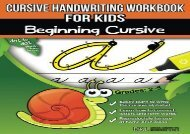 [+][PDF] TOP TREND Cursive Handwriting Workbook for Kids: Beginning Cursive  [NEWS]