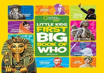 [+][PDF] TOP TREND Little Kids First Big Book of Who (First Big Book)  [DOWNLOAD]