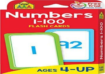 [+][PDF] TOP TREND Flash Cards - Numbers 1 - 100  [READ]