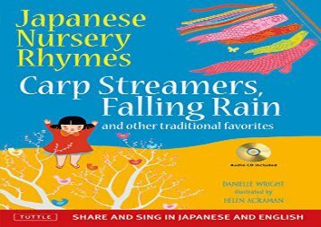 [+]The best book of the month Japanese Nursery Rhymes: Carp Streamers, Falling Rain, and Other Traditional Favorites (Book   Audio CD)  [DOWNLOAD]