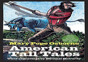 [+]The best book of the month American Tall Tales  [DOWNLOAD]