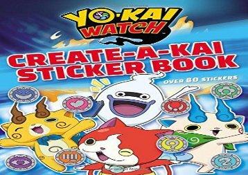 [+][PDF] TOP TREND Yo-Kai Watch: Create-A-Kai Sticker Book  [NEWS]