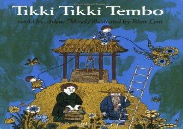 [+][PDF] TOP TREND Tikki Tikki Tembo [PDF]