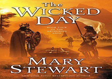 [+]The best book of the month The Wicked Day (Arthurian Saga)  [NEWS]