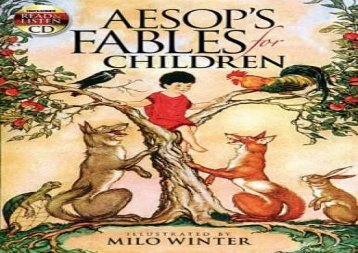 [+][PDF] TOP TREND Aesop s Fables for Children (Dover Read and Listen)  [FREE]