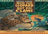 [+]The best book of the month How the Leopard Got His Claws  [FREE]