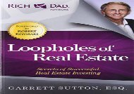 [+]The best book of the month Loopholes of Real Estate (The Rich Dad Advisor Series)  [FULL]