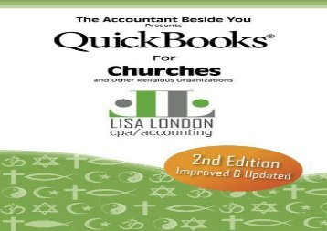 [+]The best book of the month QuickBooks for Churches   Other Religious Organizations (Accountant Beside You)  [READ]