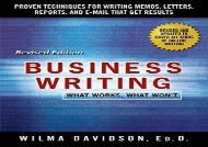 [+]The best book of the month Business Writing  [FREE]