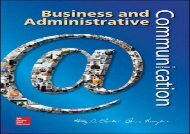 [+]The best book of the month Business and Administrative Communication  [FULL]