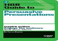 [+]The best book of the month HBR Guide to Persuasive Presentations (HBR Guide Series)  [READ]