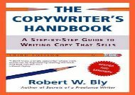 [+]The best book of the month The Copywriter s Handbook: A Step-by-step Guide to Writing Copy That Sells  [FULL]