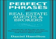 [+][PDF] TOP TREND Perfect Phrases for Real Estate Agents   Brokers (Perfect Phrases Series) [PDF]