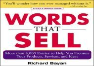 [+]The best book of the month Words that Sell, Revised and Expanded Edition: The Thesaurus to Help You Promote Your Products, Services, and Ideas  [NEWS]