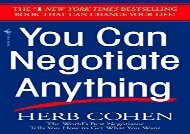 [+]The best book of the month You Can Negotiate Anything  [NEWS]