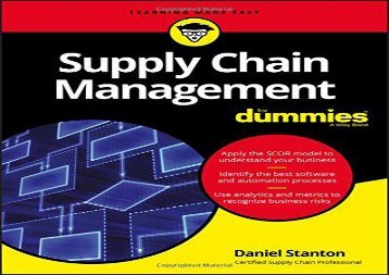 [+]The best book of the month Supply Chain Management For Dummies [PDF]